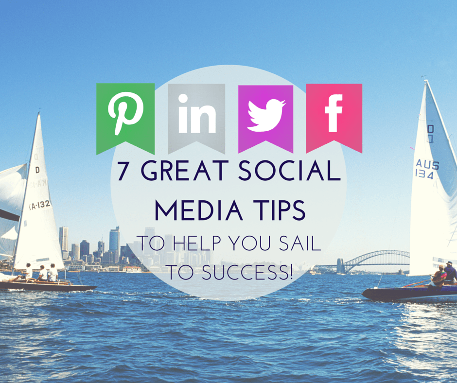 seven savvy social media success tips