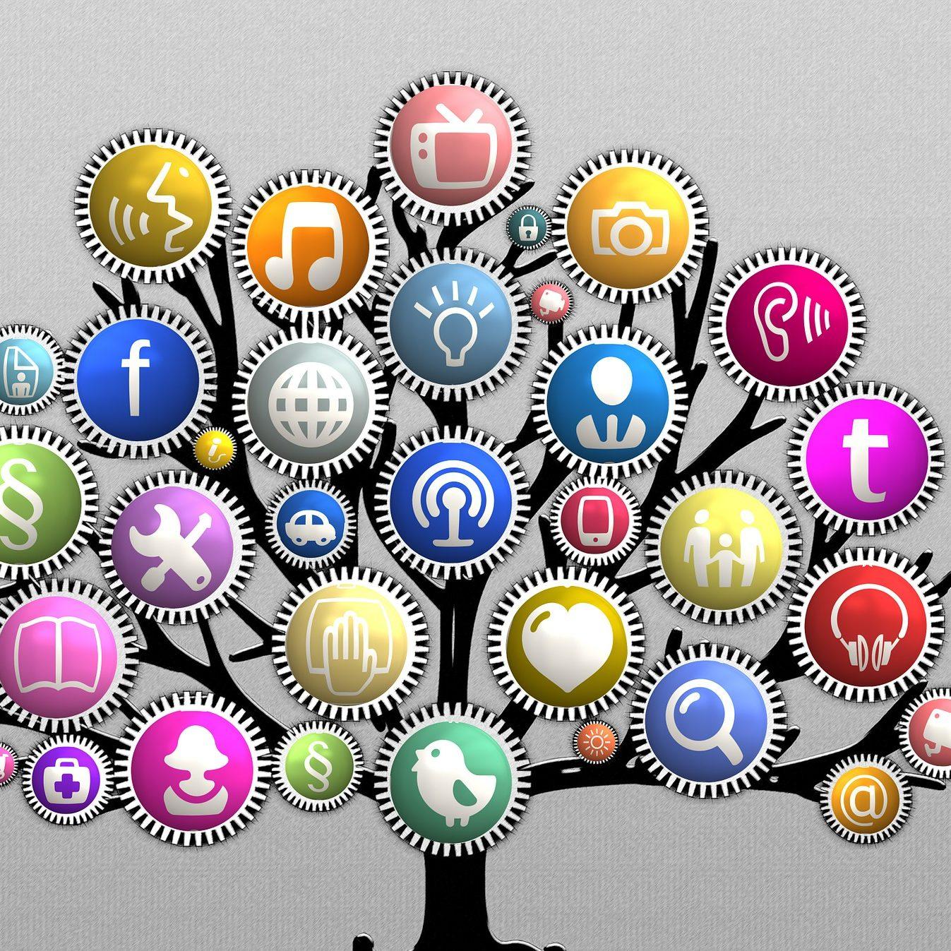 social-media-marketing-tree
