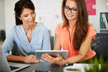 female entrepreneur marketing
