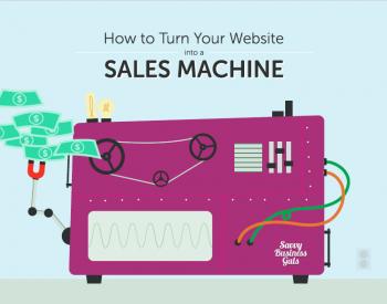 website into sales machine